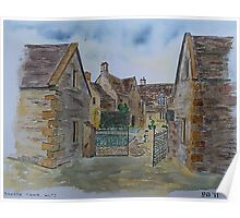 Cotswold Manor House Poster