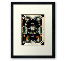 Triumph - Card XII from The Tarot of Flowers Framed Print
