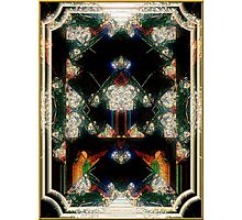 Triumph - Card XII from The Tarot of Flowers Photographic Print