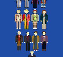 Doctor Who Minimalist by ArtGhost