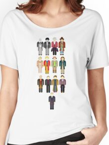 Doctor Who Minimalist Women's Relaxed Fit T-Shirt
