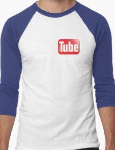 Noob Tube Men's Baseball ¾ T-Shirt