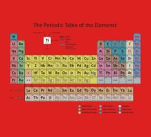 Periodic Table of the Elements  Baby Tee