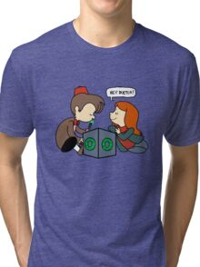 The Doctor Is Not Listening Tri-blend T-Shirt