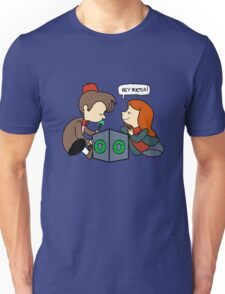 The Doctor Is Not Listening Unisex T-Shirt