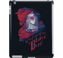 Who could ever love a Beast iPad Case/Skin
