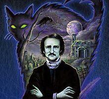 Edgar Allan Poe Gothic by Scott Jackson