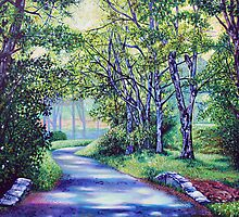 'Summer's Languid Path' (2012 Version) by Jerry Kirk