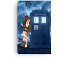 Doctor... WHO?? Canvas Print