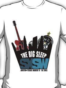 The Big Sleep SXSW 2012 T-Shirt