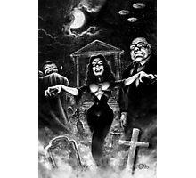 Vampira Plan 9 zombies Photographic Print