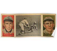 Benjamin K Edwards Collection Louis Richie Thos J Needham Chicago Cubs baseball card portrait Poster
