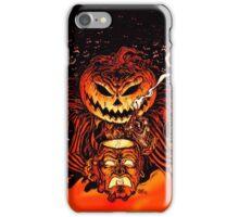 Pumpkin King Lord O Lanterns iPhone Case/Skin