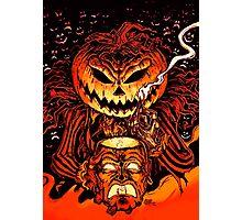 Pumpkin King Lord O Lanterns Photographic Print