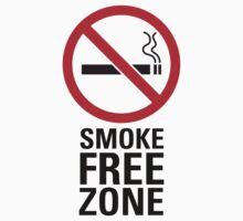 Smoke Free Zone - Dark by destinysagent