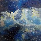 Angels Arrival AT SANDRE DE CRISTO MOUNTAIN TWO by Lindalayne