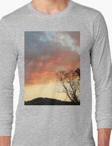 Red Sky at Night Long Sleeve T-Shirt