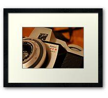 Retro Kodak Framed Print