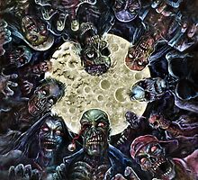 Zombies Attack (Zombie horde) by Scott Jackson
