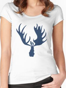 Hare Moose 2.0 Women's Fitted Scoop T-Shirt