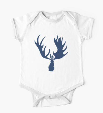 Hare Moose 2.0 One Piece - Short Sleeve