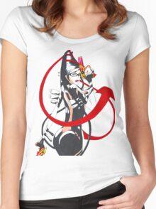 Bayonetta Women's Fitted Scoop T-Shirt