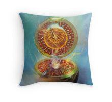The Compass Throw Pillow