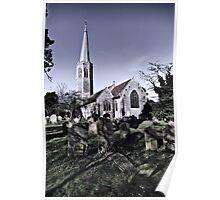 All Saints, Wickham Market Poster