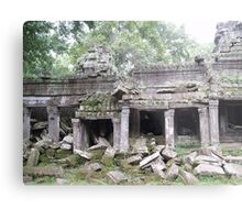 Natural Destruction Metal Print