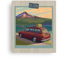Vintage Squareback at Trillium Lake Canvas Print