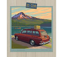Vintage Squareback at Trillium Lake Photographic Print