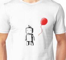 Robot Balloon Unisex T-Shirt