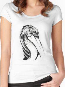 Bird Ink Women's Fitted Scoop T-Shirt