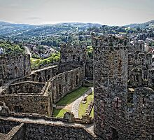 Conwy Castle by Selina Ryles