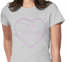 My Heart Belongs to The Dread Wolf Womens Fitted T-Shirt