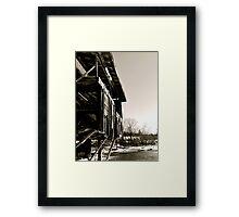 Tattered History Framed Print