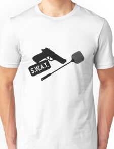 SWAT- black Unisex T-Shirt