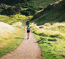 Hiking by lorenzoviolone
