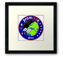 PromISSe Mission to the ISS Framed Print