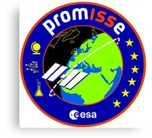 PromISSe Mission to the ISS Canvas Print