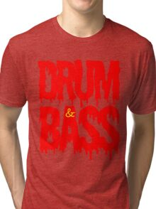 Drum & Bass  Tri-blend T-Shirt