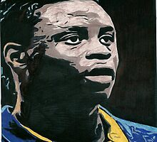 Magaye Gueye Everton Comic Book Style Image by chrisjh2210