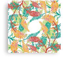 Tropical Garden Gate  Canvas Print