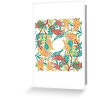 Tropical Garden Gate  Greeting Card