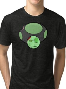 Zombie Toad  Tri-blend T-Shirt