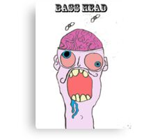 bass head ! Canvas Print