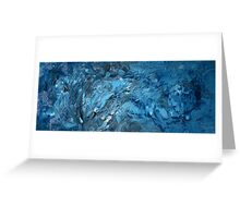 Untitled (blue). 2011. Greeting Card