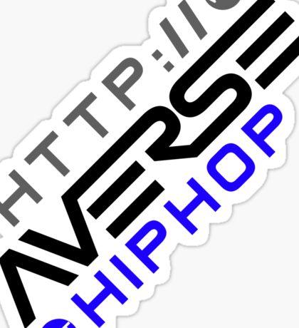 URL Merchandise on White Sticker