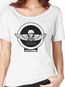 Burma Bridge Busters - 490th BS - 341st BG - 10th & 14th AF Emblem  Women's Relaxed Fit T-Shirt