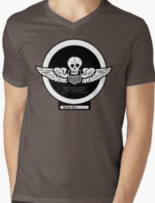 Burma Bridge Busters - 490th BS - 341st BG - 10th & 14th AF Emblem  Mens V-Neck T-Shirt